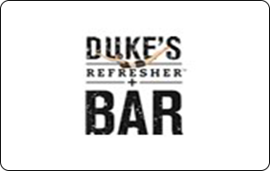 Duke's Refresher Bar Gift Cards