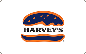 Harvey's Gift Card