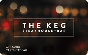 The Keg Steakhouse Gift Cards