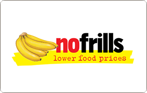 No Frills Gift Cards