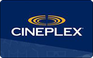 Cineplex Admit One Gift Card