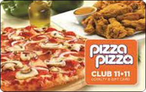 Pizza Pizza Gift Card