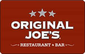 Original Joe's Gift Card