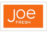 Joe Fresh Gift Cards