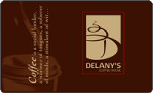 Delany's Coffee House Gift Card